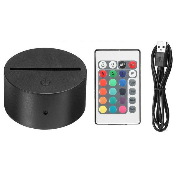 Base RGB con controlador IR