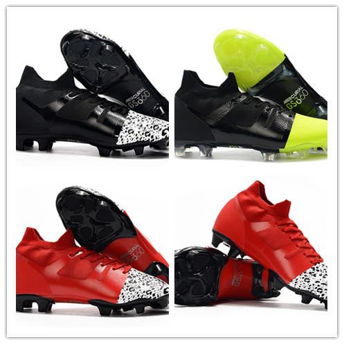 2019 Hot Sale Black Red Mens Mercurial Superfly 360 GS Soccer Shoes Discount Waterproof Knitting World Cup Football Boots Size 39-45
