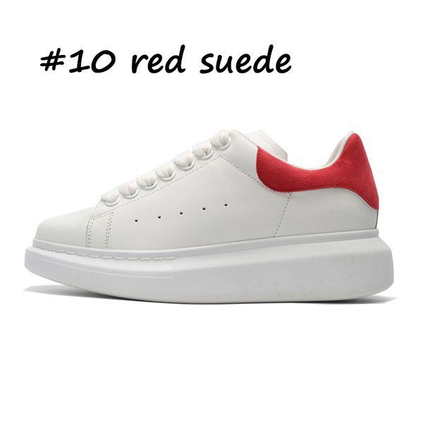 10 suède rouge