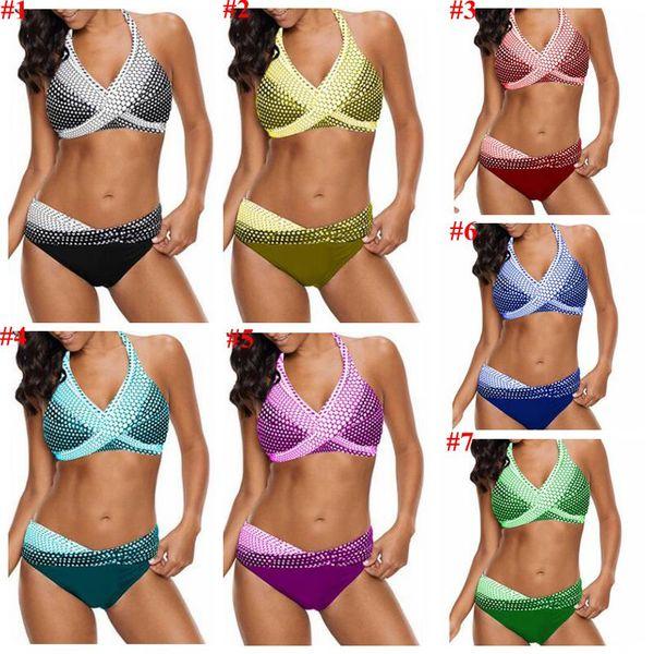 Maillots de bain Femme Bikini Mermaid Designer Maillot Plus Size Maillot De Bain Slim Sexy Costume Da Bagno Donna Maillot de bain Beachwear CYL-B5720
