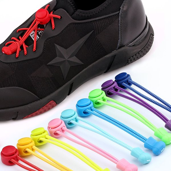 1 meter long stretch lazy man shoelaces shoes Accessories tailored mult color colorful shoelaces free ship