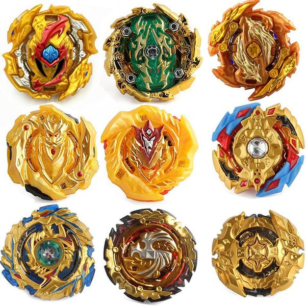 best selling 34 Upgraded Gold Edition 4D Beyblade Burst Toys Arena Metal Fighting Explosive Without Launcher Gyroscope Fusion God Spinning Top Bey Blades