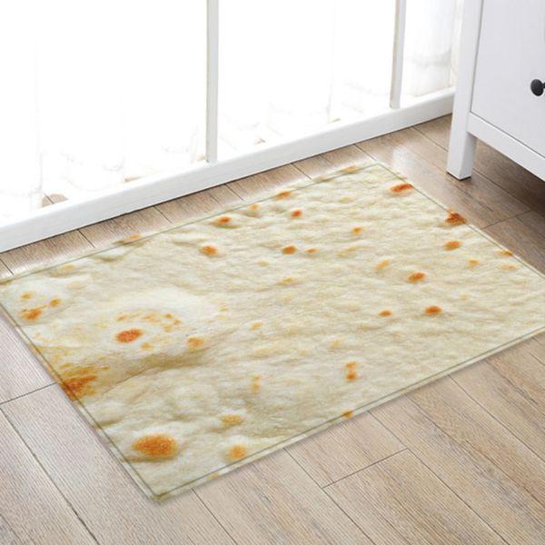 Acquista Tappeto Pavimenti Comfort Tappeti Creativi Cucina Porta Burrito  Wrap Blanket Square Tappeto Da Bagno Bambini Tappeto Home Decor Mat A  $37.81 ...
