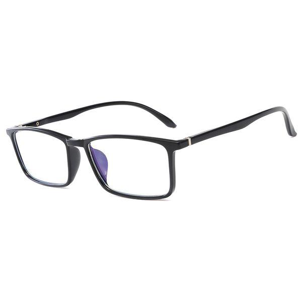 Nouvel ordinateur portable lunettes de lecture lunettes de verre transparent lentille en verre unisexe anti-bleu lunettes cadre lunettes top qualité ordinateur lunettes