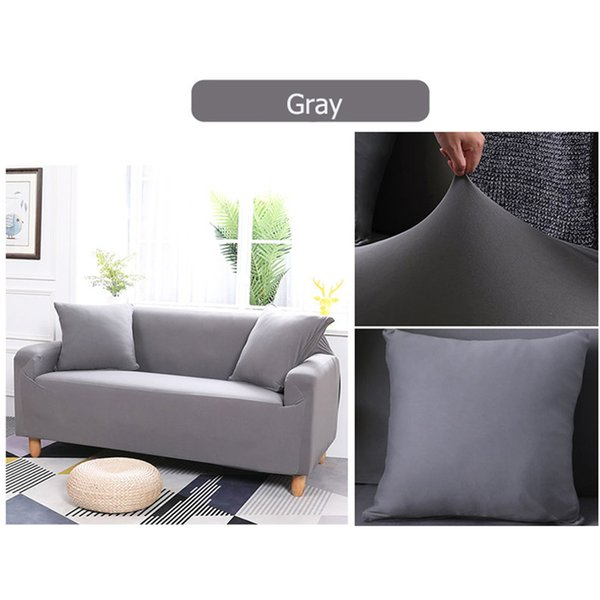 2 /3 Seater Sofa Cover Slipcover Stretch Elastic Couch Chair Protector For  Home, Office And Hotel Armchair Slipcovers Sofa Slip Cover From Oopp, ...