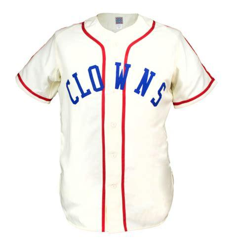 Indianapolis Clowns 1945 Home Jersey 100% Stitched Embroidery Logos Vintage Baseball Jerseys Custom Any Name Any Number Free Shipping