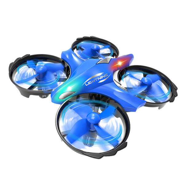 China Supplier Makerfire Blue Intelligent infrared hovering gesture UFO remote Induction control drone children toys Chenghai Free Shipping