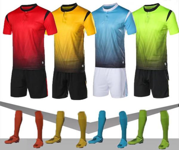 Yeni en iyi donanımlı Özel footballsuits üniforma yetişkin çocuk futbol takım takımı kişiselleştirilmiş baskılı formalar futbol ...
