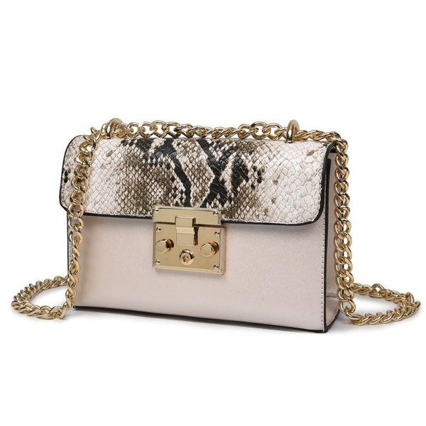 Designer- Bags Famous Brand Women Bags 2019 Fashion Ladies Crossbody Bags Designer Handbags High Quality Serpentine Shoulder 002