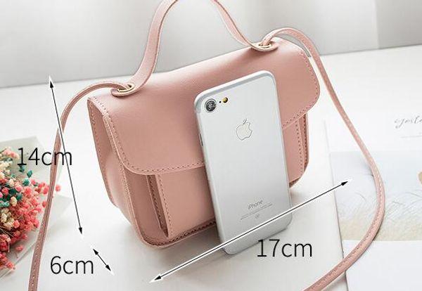 2019 hot spring and summer new Korean models simple wild small bag handbag small fresh shoulder slung handbag
