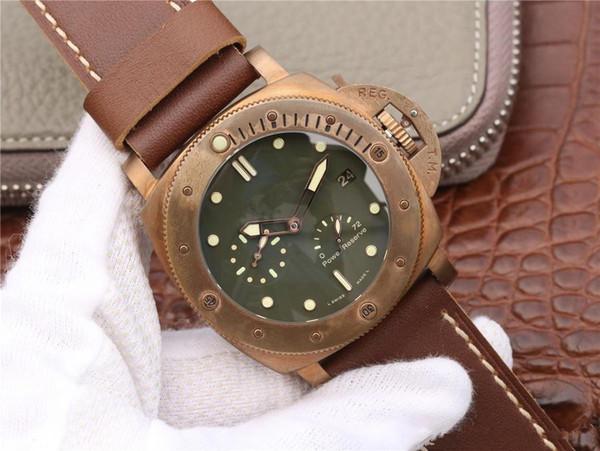 XF роскошные мужские часы v5 PAM507 механизм часов P9002 автомат 47 мм глубина водонепроницаемый светящиеся автоматические часы