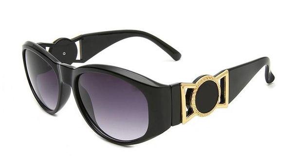 Sommer stil italien medusa sonnenbrille rahmen frauen männer markendesigner uv schutz sonnenbrille klare linse und beschichtung linse sunwear