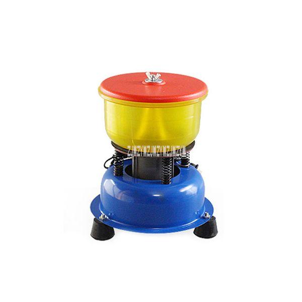 6 Inch Jade Polishing Machine Bracelet Vibration Polishing Barrel30W Agate Jade Processing Equipment Lapidary Tool 220V
