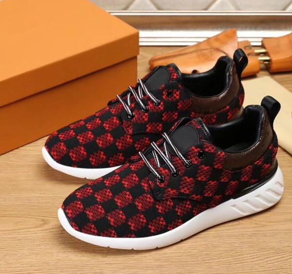2019 hohe qualität Top Luxus Designer Wohnungen Männer Schuhe Berühmte Mode Stil Aus Echtem Leder Schuhe Männer Casual Shoes38-45 mn289602603