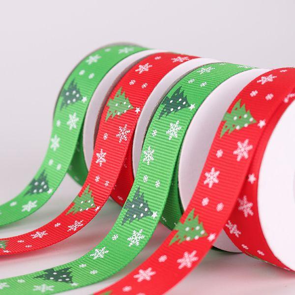 9M Snowflake Christmas Tree Ornaments Decoration Ribbons Party Supply XmasRibbon