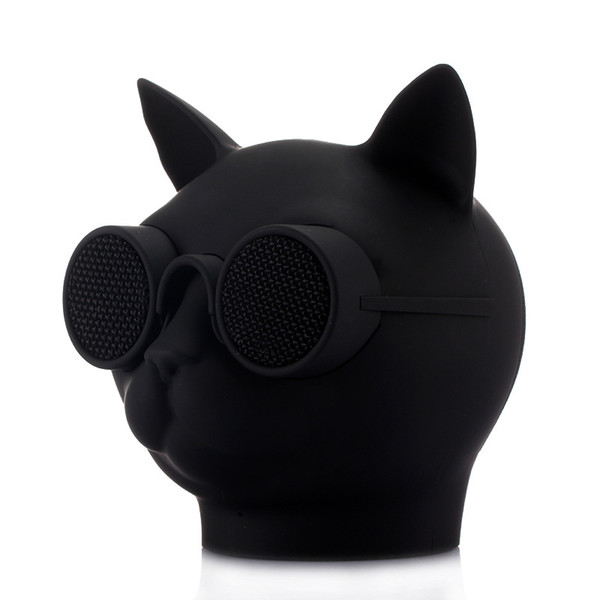T8 5W Cat Head Bluetooth Speaker Portable wireless speaker Mini Cute Speaker With Microphone Support TF Card Suitable for iphone Android