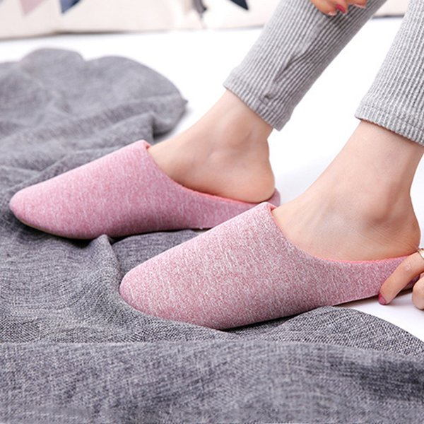 Men Winter Shoes Large Size 55-56 Short Plush Warm Soft Slippers Be At Home Solid Comfy Indoor Slippers Casual