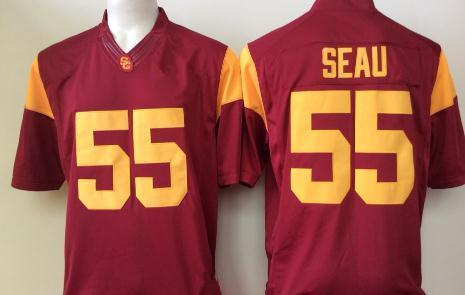#55 Junior Seau Red