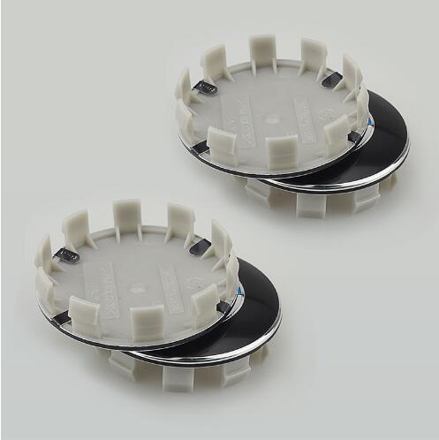 4 Unids Car Styling 68mm 10 pin Auto Car Wheel Center Hub Caps Cubiertas de llanta Cubiertas para BMW E46 E30 E39 E34 E60 E36 E38 M3 M5 Logotipo insignia