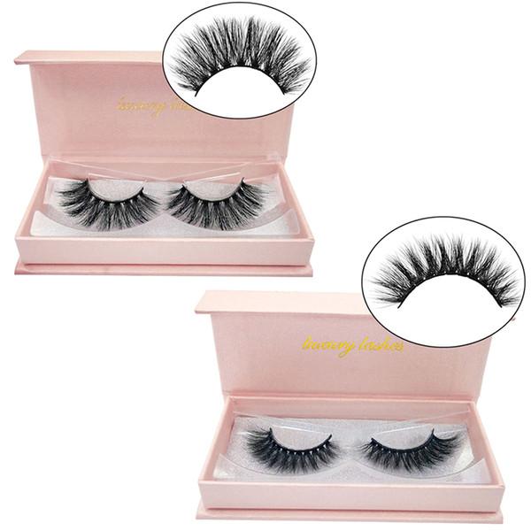 One Pair 3D Mink Lashes Luxury Hand Made Natural False Eyelashes Soft Lashes Long Eyelash Extension Fake Mink Eyelashes