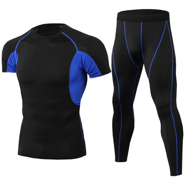 Sous-vêtements thermiques Ensembles Thermo Long Johns Hommes Hiver Compression Séchage Rapide Pantalons à Séchage Rapide Pour Hommes Pouch Leggings Body