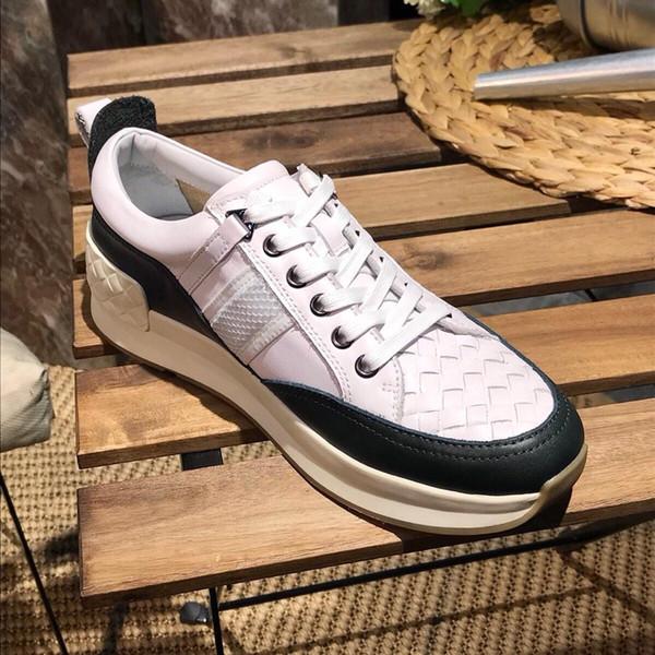 Scarpe sportive casuali del nuovo di estate del progettista di lusso degli uomini di estate del 2019 di alta qualità selvaggia comode scarpe sportive di formato: 38-44
