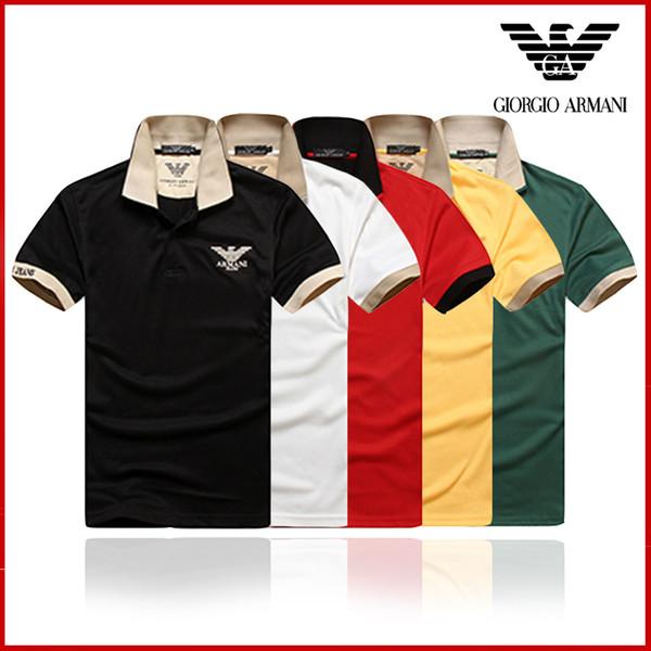 2018 Diseñador de Verano Camisetas Para Hombres Tops POLO blous Carta Bordado T Shirt Hombres Ropa Marca de Manga Corta Camiseta Mujeres Tops S-3XL 3002