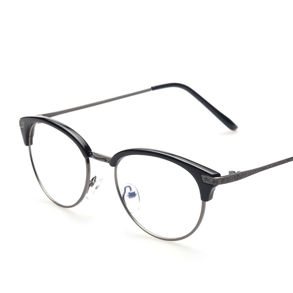 Men and Women Anti-radiation Anti-fatigue Goggles Decorative Internet Glasses Retro Glasses Frame Wholesale