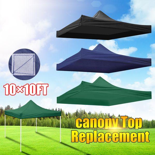 3x3m Oxford Gazebo Carpas Canopy Top Impermeable Carpa de jardín Gazebo Canopy Tienda de mercado al aire libre Shade Party Pawilon Ogrodowy