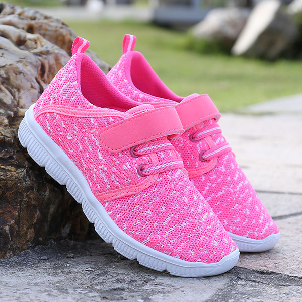 New children's shoes coconut boy running shoes girls casual sports shoes fashion non-slip spring and autumn 5 color free shipping
