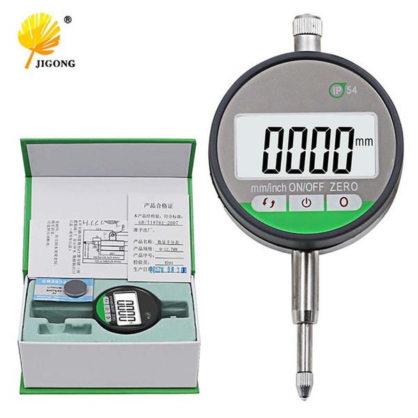 top popular Tools IP54 Oil-proof Digital Micrometer 0.001mm Electronic Micrometer Metric Inch 0-12.7mm  0.5\ Dial Indicators Tools Cheap Dial Indicators 2021