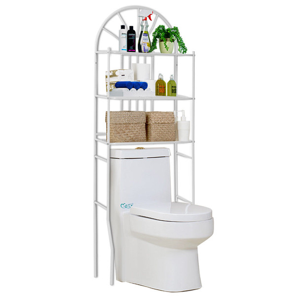 2019 3 Shelf Over The Toilet Bathroom Space Saver Towel Storage Rack  Organizer White From Huangxinxin16, $33.16 | DHgate.Com
