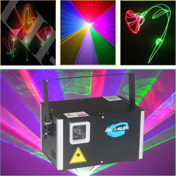Outdoor 4.5W RGB Club Laser Disco Laserlicht Show Projektor DJ Equipment Party Laser Beleuchtung