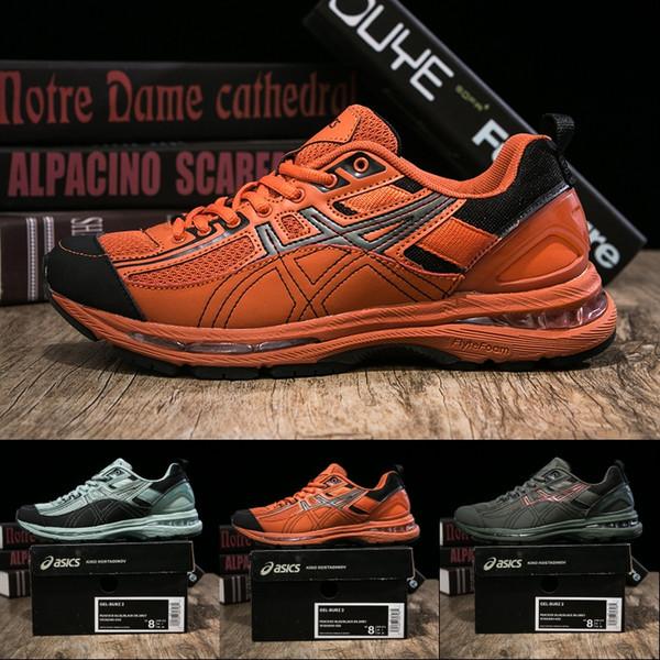 wielka wyprzedaż oryginalne buty zaoszczędź do 80% 2019 New Asics X Kiko Kostadinov Gel Burz 2 Men Women Running Shoes High  Quality Designer Sneakers Sport Shoes Trainers 40 45 From Strive1616,  $91.38 ...