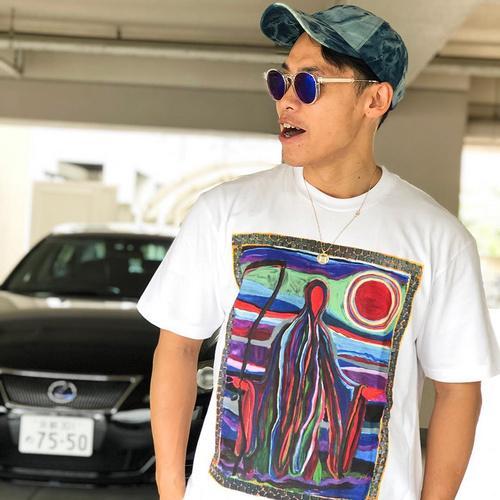 T-shirt hip hop 19SS Reaper Tee Uomo Donna T-Shirt manica corta