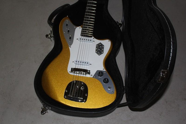 free shippin Electric Guitars In stock High quality golden electric guitar, fgh twe free shipping! Musical Instruments