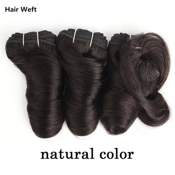 Natural color Weft