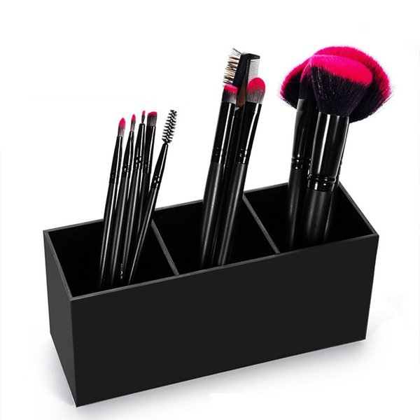 top popular Toiletry Storage Boxes Cosmetic Holder Make Up Box Ladies Classic Acrylic Wear Resistant Make Up Tools RRA1287 2019