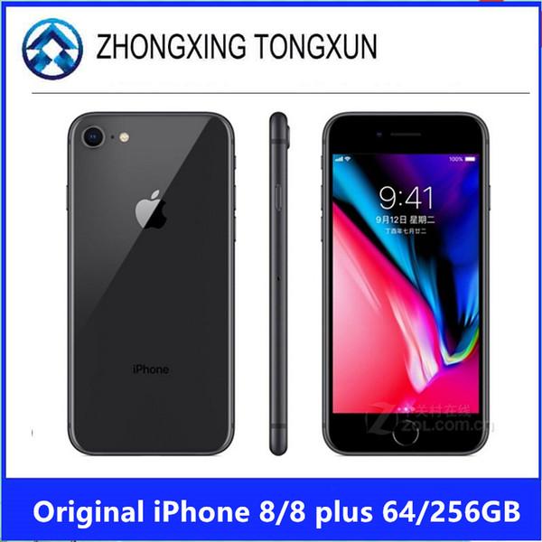 Original unlocked apple iphone 8 plu 5 5 inche hexa core 3gb ram 64gb rom io lte 3d touch dual rear camera 12mp mobile phone