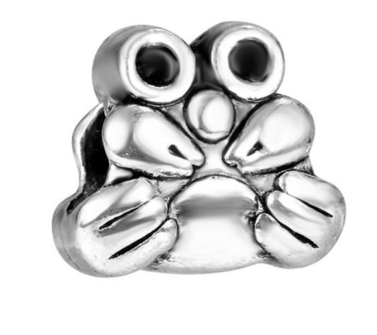 Подходит для цепи Pandora Браслеты 100шт Adorkable Curl Совы бусина серебро безопасности шарик шарм для оптовой Diy европейской Sterling ожерелья женщин
