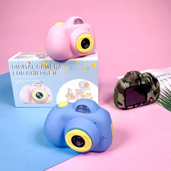 8G / 16G Nette Kinder Digitalkamera 2 inch 8MP Mini Dual Lens Kinder Geschenk Kamera SLR-Kameras mit optischem Bildstabilisator
