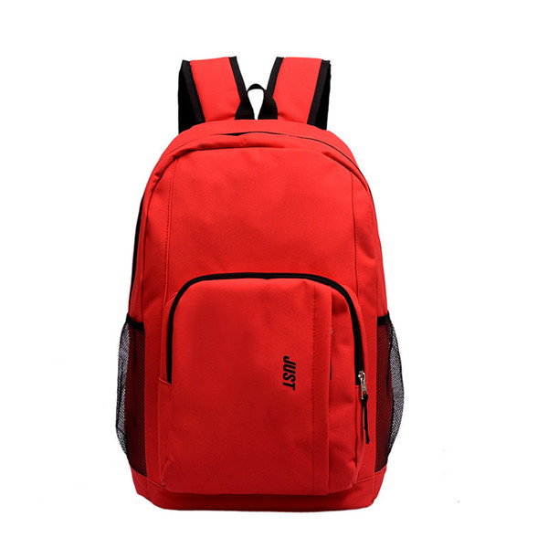 best selling Backpack Computer Bag Student Couple Schoolbag Men And Women Travel Bag 5 Color Factory Wholesal