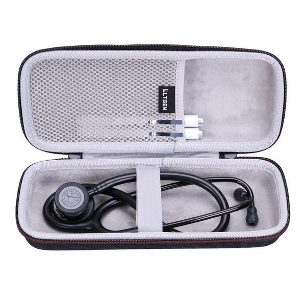 LTGEM EVA impermeabile antiurto custodia rigida per 3M Littmann Classic III Monitoraggio stetoscopio