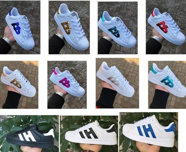 Низкая цена Мода Мужская Повседневная обувь Superstar Смит Стэн Женские Плоские Туфли Женщины Zapatillas Deportivas Mujer Lover Sapatos Femininos для мужчин