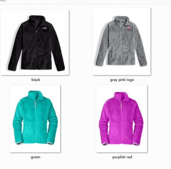Yeni Kış NF Çocuklar Polar Osito Ceketler Moda Yumuşak Polar Sıcak İnce Palto Açık Çocuk Marka Erkek Çocuklar bombacı Ceket Kadın Aşağı Ceket