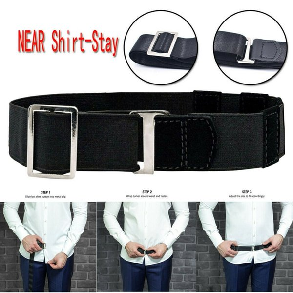 Near Shirt Stay Best Tuck It Belt For Women Non-slip Wrinkle-Proof Shirt Holder Straps Locking Belt Mens Stay Adjustable