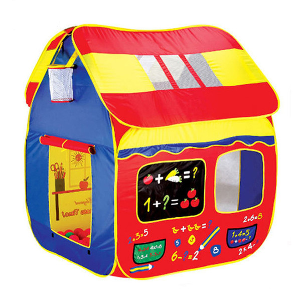 Fun Basketball Hoop Play Hut Children's tent large game houses folding portable toy ocean ball pool house toys baby kids gift