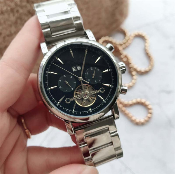Luxury men mechanical watch fashion royal mens Watches top movement automatic business mechanical watch distinguished preferred classic copy
