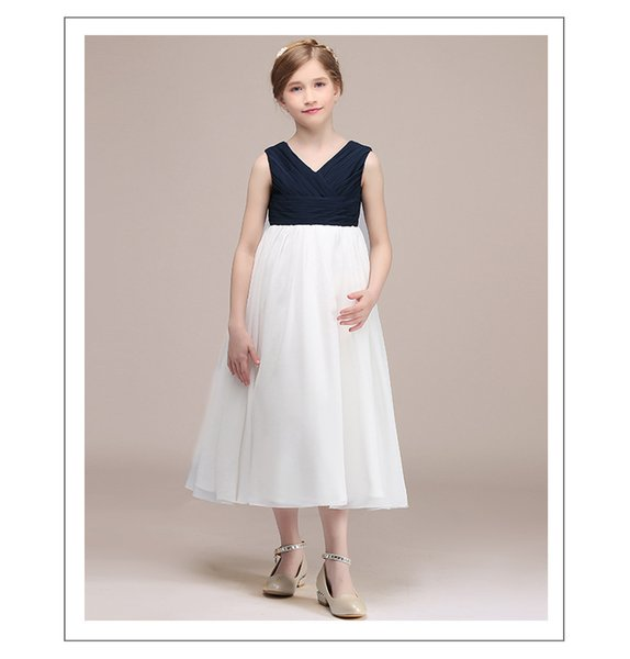 Beauty Ball Gown V Neck Flower Girl Dresses 2019 Applique Girls Pageant  Dress First Communion Dresses Party Gown Plus Size Flower Girl Dresses ...