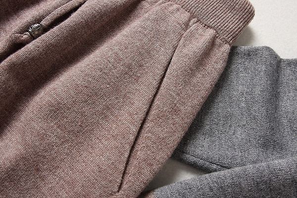 Femme Topluluk 2 Parça Pantalon Çizgili Uzun kollu Jumper + Pantolon Kadın Örme Setleri drop shipping İyi kalite